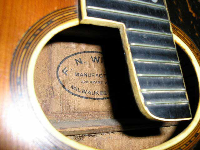 Larson Brothers Guitar Registry : Registry of Other Brands